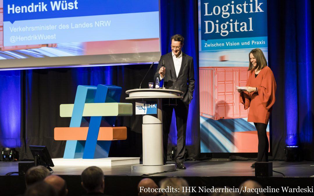 """""""Logistik Digital"""" – Ein Kogress der IHKs im Ruhrgebiet"""